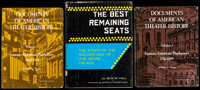 """The Best Remaining Seats by Ben M. Hall and Others Lot (Various, 1961-1973). Hardbound Books (3) (Multiple Pages, 8""""..."""