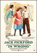 """Movie Posters:Comedy, In Wrong (First National, 1919). One Sheet (28.5"""" X 41""""). Comedy.. ..."""
