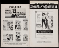"""Ann-Margret in Bus Riley's Back in Town and Others Lot (Universal, 1965). Uncut Pressbooks (3) (Multiple Pages, 12""""..."""