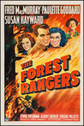"Movie Posters:Action, The Forest Rangers (Paramount, 1942). One Sheet (27"" X 41"").Action.. ..."