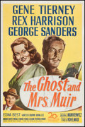 """Movie Posters:Romance, The Ghost and Mrs. Muir (20th Century Fox, 1947). One Sheet (27"""" X 41""""). Romance.. ..."""