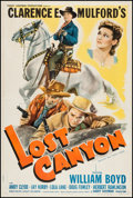 """Movie Posters:Western, Lost Canyon (United Artists, 1942). One Sheet (27"""" X 41"""") Style A. Western.. ..."""