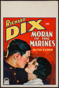 "Movie Posters:Adventure, Moran of the Marines (Paramount, 1928). Window Card (14"" X 21.25"").Adventure.. ..."
