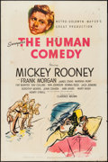 """Movie Posters:Drama, The Human Comedy (MGM, 1943). One Sheet (27"""" X 41""""). Style D. Drama.. ..."""