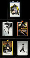 "Movie Posters:Action, Batman Returns (Warner Brothers, 1992). Print Portfolio Cards (8)(11"" X 14""). Action.. ... (Total: 8 Items)"