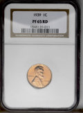 1939 1C PR65 Red NGC. NGC Census: (207/124). PCGS Population (560/273). Mintage: 13,520. Numismedia Wsl. Price: $140. (#...