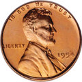 Proof Lincoln Cents: , 1954 1C PR67 Cameo PCGS. PCGS Population (41/7). (#83371)...