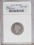 1885 5C --Corroded-- ANACS. AG3 Details. NGC Census: (0/319). PCGS Population (24/438). Mintage: 1,476,490. (#3846)...(P...