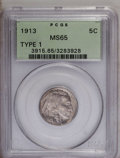 Buffalo Nickels: , 1913 5C Type One MS65 PCGS. PCGS Population (2514/1692). NGC Census: (1878/1238). Mintage: 30,993,520. Numismedia Wsl. Pric...