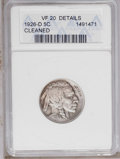 1926-D 5C --Cleaned-- ANACS. VF20 Details. NGC Census: (33/533). PCGS Population (4/841). Mintage: 5,638,000. Numismedia...