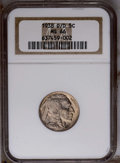 Buffalo Nickels: , 1938-D/D 5C Buffalo MS66 NGC. PCGS Population (668/55). Mintage: 7,020,000. (#93984)...