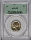 1941 5C MS66 Full Steps PCGS. PCGS Population (127/7). NGC Census: (3/0). (#84010)...(PCGS# 84010)