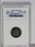 Early Dimes: , 1801 10C --Scratched--ANACS. VG8 Details. JR-1. NGC Census: (0/28).PCGS Population (4/33). Mintage: 34,640. Numismedia Wsl....