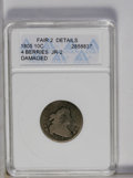 1805 10C 4 Berries--Damaged--ANACS. Fair 2 Details. JR-2. NGC Census: (8/276). PCGS Population (9/303). Mintage: 120,780...