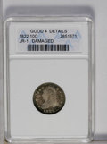 Bust Dimes: , 1822 10C --Damaged--ANACS. Good 4 Details. JR-1. NGC Census:(3/43). PCGS Population (0/31). Mintage: 100,000. Numismedia ...