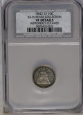 1842-O 10C --Improperly Cleaned-- NCS. VF Details. NGC Census: (5/50). PCGS Population (1/33). Mintage: 2,020,000. Numis...