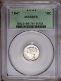 1941 10C MS66 Full Bands PCGS. PCGS Population (755/198). NGC Census: (443/272). Mintage: 175,106,560. Numismedia Wsl. P...