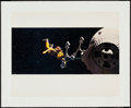 "Movie Posters:Science Fiction, 2001: A Space Odyssey (MGM, 1968). Jumbo Lobby Card (16"" X 20"").Science Fiction.. ..."