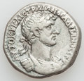 Ancients:Roman Provincial , Ancients: CILICIA. Aegeae. Hadrian (AD 117-138). AR tetradrachm(13.24 gm). ...