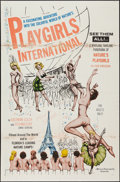 "Movie Posters:Sexploitation, Playgirls International (Westfield Productions, 1963). One Sheet(27"" X 41""). Sexploitation.. ..."