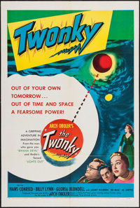 """The Twonky (United Artists, 1953). One Sheet (27"""" X 41""""). Science Fiction"""