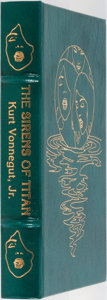 Books:Science Fiction & Fantasy, Kurt Vonnegut, Jr. SIGNED. The Sirens of Titan. Easton Press, 1990. Signed by the author. Publisher's leather. F...