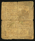 Colonial Notes:Pennsylvania, Pennsylvania April 3, 1772 6d Good.. ...