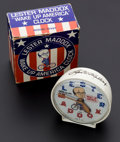 "Timepieces:Clocks, ""Lester Maddox"" Wake Up America Alarm Clock With Original Box. ..."