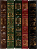 Books:Science Fiction & Fantasy, Joe Haldeman. Group of Five Signed and Numbered First Edition Books Published by Easton Press. Publisher's leather. Fine.... (Total: 5 Items)