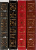 Books:Science Fiction & Fantasy, Peter F. Hamilton. Group of Four Signed and Numbered First Edition Books Published by Easton Press. Publisher's leather. Fin... (Total: 4 Items)