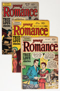Golden Age (1938-1955):Romance, Young Romance Comics Group (Prize, 1948-49) Condition: AverageVG-.... (Total: 5 Comic Books)
