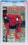Modern Age (1980-Present):Superhero, Spider-Man #1 Platinum Edition (Marvel, 1990) CGC NM 9.4 Whitepages....