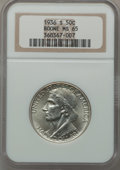 Commemorative Silver: , 1936-S 50C Boone MS65 NGC. NGC Census: (373/271). PCGS Population(455/296). Mintage: 5,006. Numismedia Wsl. Price for prob...