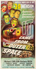 "Movie Posters:Science Fiction, It Came from Outer Space (Universal International, 1953). ThreeSheet (41"" X 78.5"") 3-D Style.. ..."
