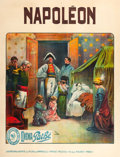 "Movie Posters:Drama, Napoleon (Cinema Pathé, 1909). French Grande (47.75"" X 62"").. ..."