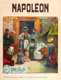 "Napoleon (Cinema Pathe, 1909). French Grande (47.5"" X 62"")"