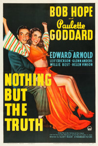 """Nothing but the Truth (Paramount, 1941). One Sheet (27"""" X 41"""")"""