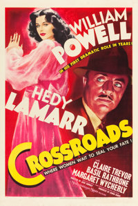 """Crossroads (MGM, 1942). One Sheet (27"""" X 41"""") Style D"""