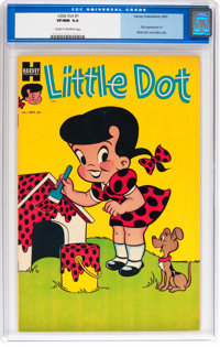 Little Dot #1 (Harvey, 1953) CGC VF/NM 9.0 Cream to off-white pages