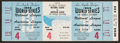 Baseball Collectibles:Tickets, 1959 World Series Game 4 Full Ticket....