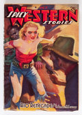 Pulps:Western, Spicy Western Stories - October '38 (Culture, 1938) Condition: VG/FN....