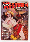 Pulps:Western, Spicy Western Stories June '37 (Culture, 1937) Condition: VG/FN....