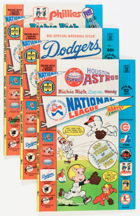 Richie Rich, Casper and Wendy National League File Copy Group (Harvey, 1976) Condition: Average NM-.... (Total: 18 Comic...
