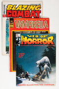 Magazines:Miscellaneous, Assorted Horror Comic Magazines Group (Various Publishers, 1964-77)Condition: Average FN-.... (Total: 25 Comic Books)