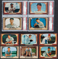 Baseball Cards:Lots, 1955 Bowman Baseball Collection (93) ...