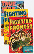 Golden Age (1938-1955):Miscellaneous, Harvey Golden/Silver Age War Group Group (Harvey, 1950s) Condition: Average VF.... (Total: 40 Comic Books)