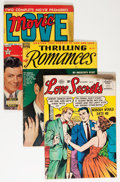 Golden Age (1938-1955):Romance, Comic Books - Assorted Golden Age Romance Comics Group (VariousPublishers, 1949-56) Condition: Average GD.... (Total: 23 ComicBooks)