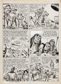 Original Comic Art:Panel Pages, Jack Kirby Western Tales #31 Page 10 Original Art (Harvey,1955)....