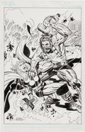 Original Comic Art:Covers, Angel Gabriele Thor #252 Cover Re-Creation Original Art(undated)....
