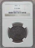 Large Cents: , 1805 1C Fine 15 NGC. NGC Census: (6/93). PCGS Population (8/144).Mintage: 941,116. Numismedia Wsl. Price for problem free ...